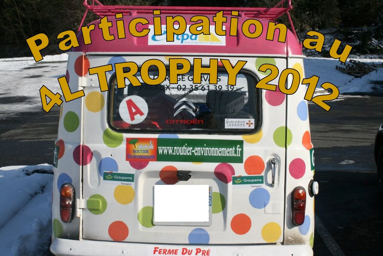 Participation au 4L Trophy